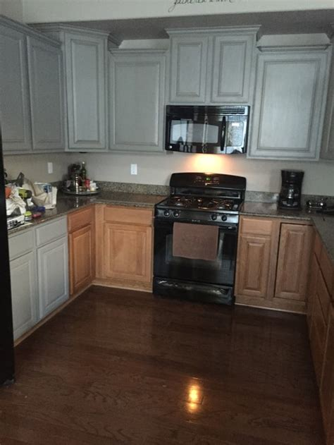 painting oak cabinets grey help painting oak cabinets grey