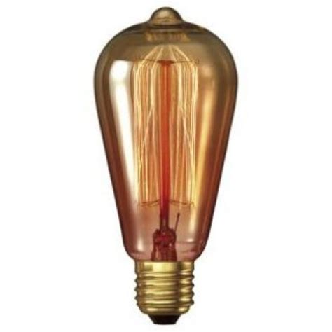 calex 1525858 goldline 35 watt rustic decorative light bulb