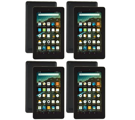 amazon fire  pack   tablets   cases  app