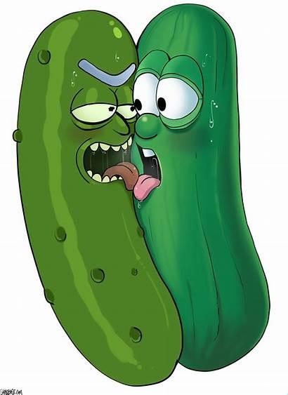 Pickle Rick Shadbase Comic