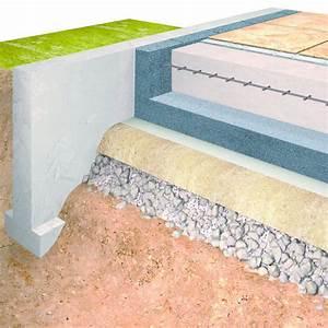 Isolation Sous Carrelage : unimat sol panneau pour isolation sous chape batiproduits ~ Melissatoandfro.com Idées de Décoration