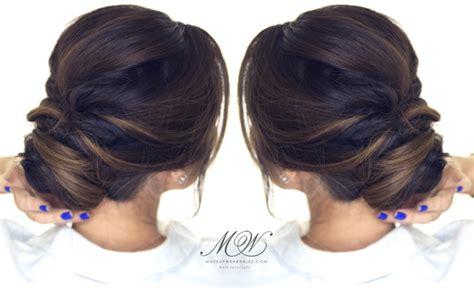 easy bun hairstyles for school everyday homecoming wedding