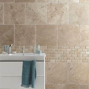 Carrelage Travertin Leroy Merlin : carrelage salle de bain travertin ~ Voncanada.com Idées de Décoration