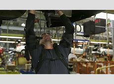 Ford Trialing EksoVest Exoskeleton for Overhead Work YouTube
