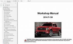2014 Ford F150 Repair Manual