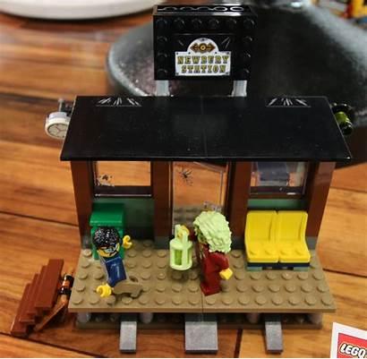 Hidden Side Lego Fair Toy Zusammengebaut Train
