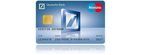 Deutsche Bank Karte Sperren