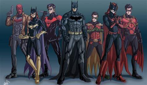 Batman, Robin (character), Nightwing, Batgirl, Dc Comics
