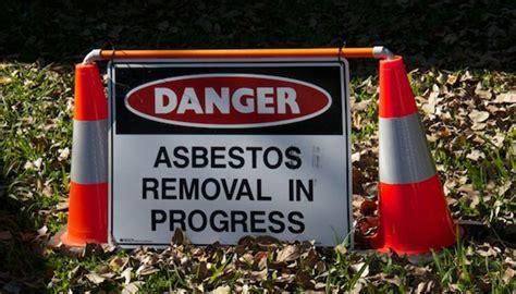 asbestos removal costs factor    renovation