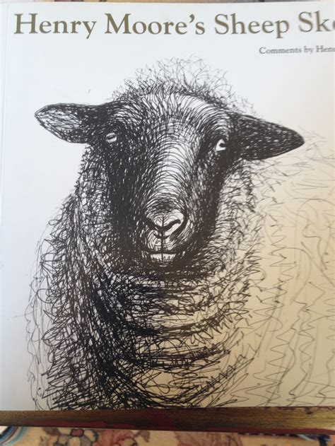 henry moore sheep drawings art animals pinterest