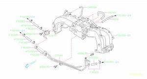 Subaru Baja Hose-vacuum  U5  Pipe  Manifold  Maintenance