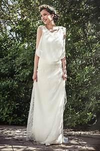 Robes De Mariée Bohème Chic : robe de mariee boheme ~ Nature-et-papiers.com Idées de Décoration