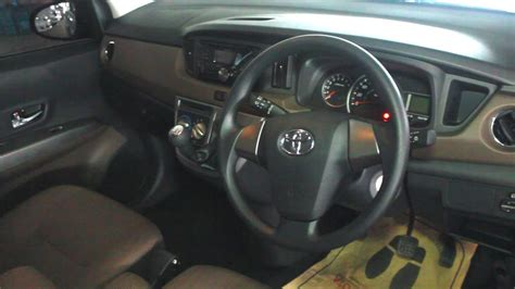 interior toyota calya youtube