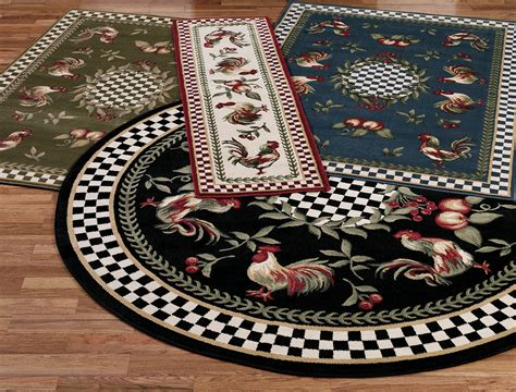 washable rooster rugs round rooster kitchen rugs rooster kitchen rugs in red