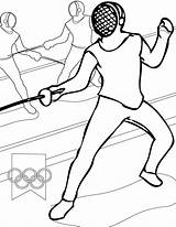 Coloring Pages Sports Fencing Olympics Olympic Printable Games Handipoints Sheets Sport Fence Printables Arcade Cat Activities Primarygames Combat Sheet Onlinecoloringpages sketch template