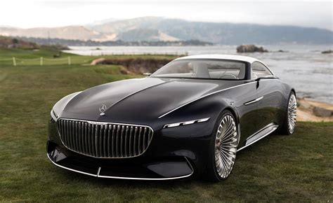 Vision Mercedes-maybach 6 Coupe And Cabriolet