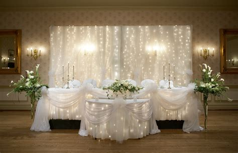 wedding main table decor wedding chapel decor packages at the old mill toronto