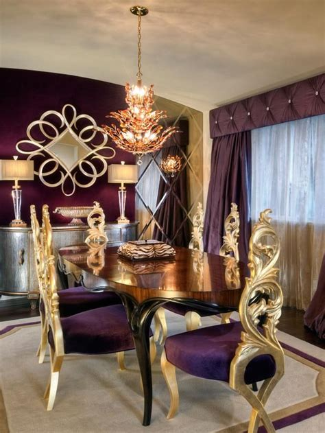 dining rooms from charles neal on hgtv home decor ideas gardens purple