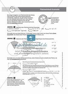 Nullstellen Berechnen Quadratische Funktion Aufgaben : vermischte aufgaben zur berechnung der kreisfl che meinunterricht ~ Themetempest.com Abrechnung