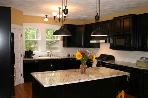 interior design kitchen ideas kitchen interior design shinny black color ideas