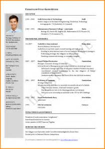 Best Resume Format For Hoppers by Sle Of Resume For A Puertorico51ststate Us
