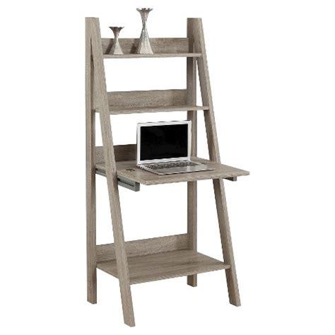 ladder style desk ladder style computer desk taupe everyroom target 3625