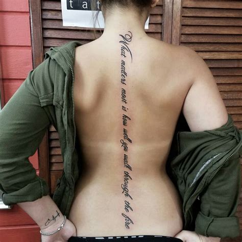 Best Spine Tattoo Quotes