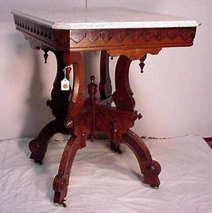 Victorian walnut marble top table for sale antiquescom for Antique marble coffee table and end tables