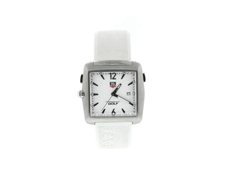 Tag Heuer Tiger Woods Golf White Men's Watch | Tag Heuer ...