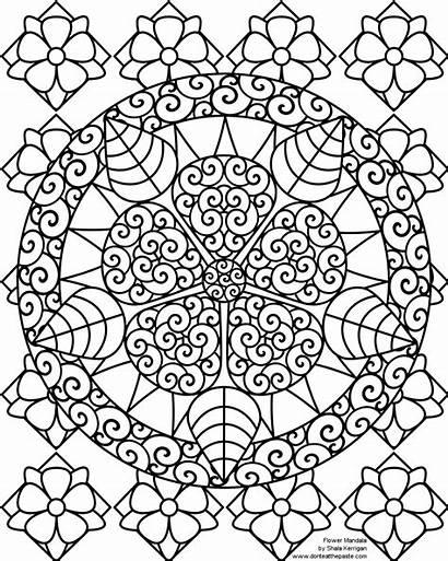 Coloring Pages Mandala Nativity Odd Dr Printable