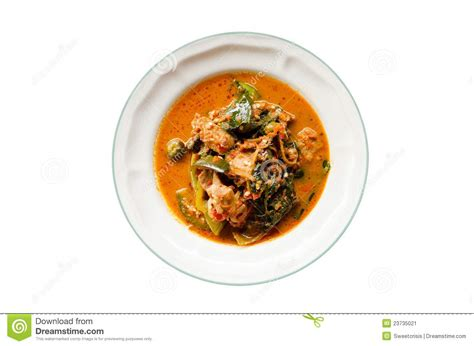 curry cuisine curry food on dish isolated stock image image 23735021