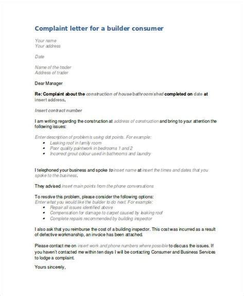 image result  complaint letter  poor workmanship