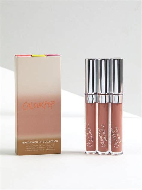 colourpop lip bundle phase sand collection