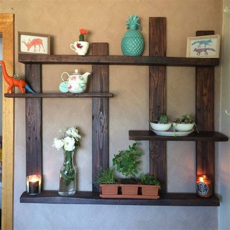 wood decor pallet shelves with wall decor pallet wood projects