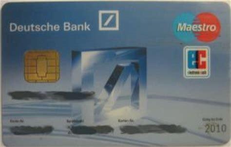 deutsche bank kreditkarte sperren americas