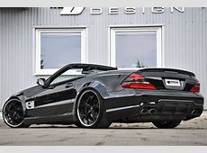 Mercedes SL Receives Prior Design Tuning Package