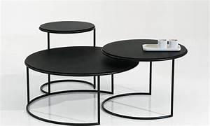 Table Basse Design Italien : naos tables basses gigognes design italien structure ~ Melissatoandfro.com Idées de Décoration