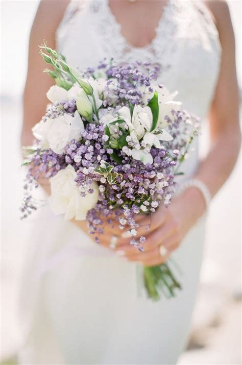ideas  lavender wedding bouquets