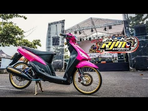 Modifikasi Mio Thailook by Modifikasi Yamaha Mio Thailook Black Pink By Rjm