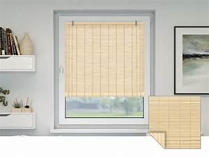 Doppelrollos Für Fenster : bambusrollos viele farben gr en f r fenster t ren ~ Markanthonyermac.com Haus und Dekorationen