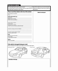 13 free vehicle report templates pdf doc free With vehicle damage report form template