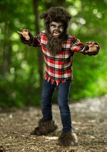 fierce werewolf costume scary werewolf costumes  children
