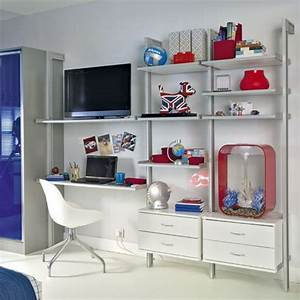 Boy39s bedroom storage bedroom storage ideas shelving for Bedroom storage shelves