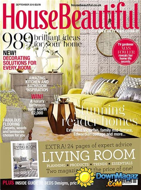 house decorating magazines uk house beautiful uk september 2015 187 pdf
