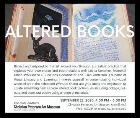 altered book workshop student activities center