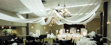 ceiling decor wedding chandeliers event decor direct