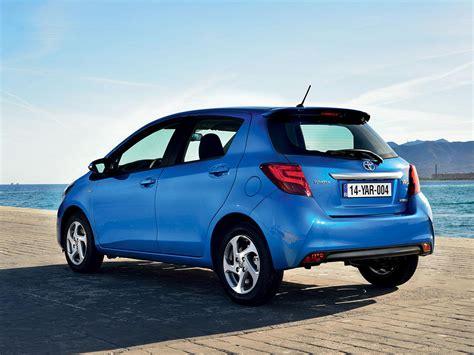 toyota yaris hatchback   mild facelift drive