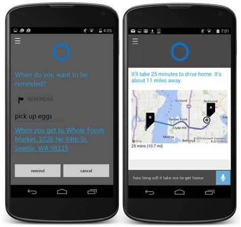 cortana app for android microsoft announces cortana app for android and ios