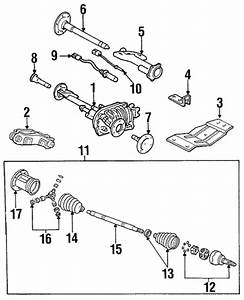 Carrier  U0026 Front Axles For 1989 Chevrolet K2500 Pickup