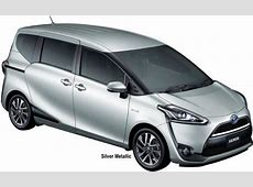 New Toyota Sienta Body colors, Full variation of exterior